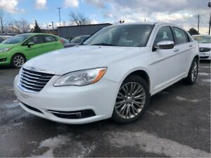 2012 Chrysler 200 Limited Nice Local Trade In! Leather Interior