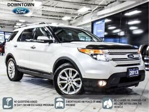 2013 Ford Explorer Limited, Tow Pack, Hwy Mileage, Navi, Prem Au