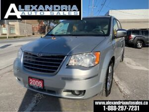 2009 Chrysler Town & Country Limited/navi/leather/sunroof/2 DVD/