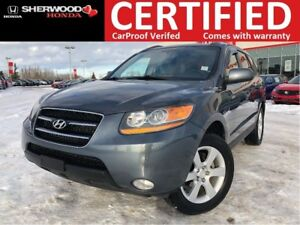 2008 Hyundai Santa Fe Limited 3.3L AWD|FOG|SUNROOF|HEATED LEATHE
