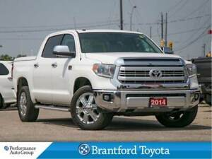 2014 Toyota Tundra Platinum, 1794 Edition, Leer Hard T-Cover