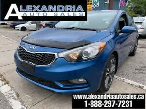 2014 Kia Forte 5-Door EX/like new/safety included
