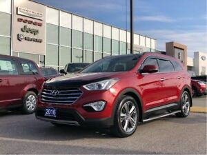 2016 Hyundai Santa Fe XL Luxury AWD!
