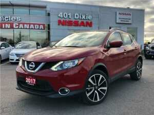 2017 Nissan Qashqai SL AWD|19 ALLOYS|NAVI|LEATHER|360 CAM|HTD SE