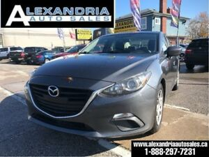 2014 Mazda Mazda3 GX-SKY/6speed/1owner/accident free/safety incl