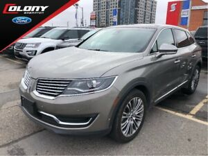 2017 Lincoln MKX Reserve | Perforated Leather | Navi | Roof