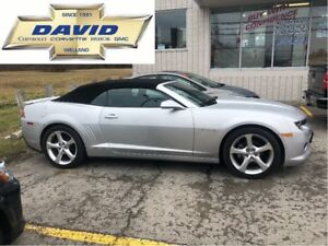 2015 Chevrolet Camaro 2LT CONVERTIBLE/LEATHER/REMOTE ST/20in ALL