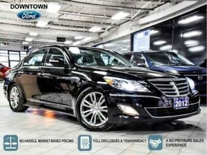 2012 Hyundai Genesis Sedan 3.8, Moon Roof, Trade-in Hwy KM, Car