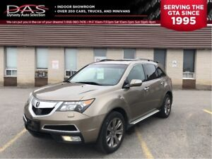 2011 Acura MDX Elite Package Navigation/DVD/Sunroof/Leather