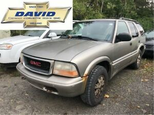 2001 GMC Jimmy SLT 4WD/ LEATHER/ KEYLESS/ SUNROOF/ AS-IS!!!