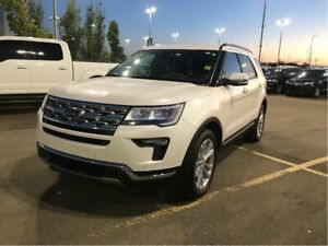 2018 Ford Explorer LIMITED, MOONROOF, 20'S, TOW PKG, ADAPT CRUIS