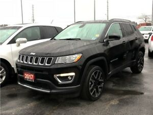 2017 Jeep Compass LIMITED**LEATHER**SUNROOF**NAVIGATION**