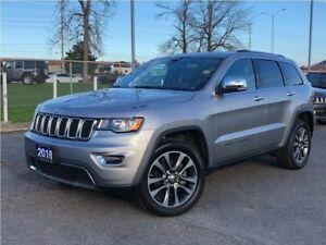 2018 Jeep Grand Cherokee LIMTED**LEATHER**SUNROOF**NAV**BACK UP