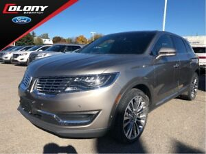 2016 Lincoln MKX Reserve   CPO   AWD   Leather   Luxury Package