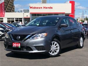 2018 Nissan Sentra SV-sunroof-rear camera-Clean Carfax