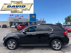 2016 Chevrolet Equinox LTZ/ LEATHER/ SUNROOF/ REMOTE START/ NAVI
