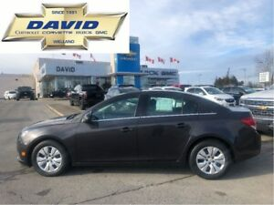 2014 Chevrolet Cruze 1LT/ LOADED/ REMOTE START/ AC/ LOCAL TRADE!