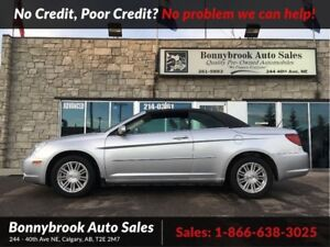 2008 Chrysler Sebring Touring leather heated seats convertible
