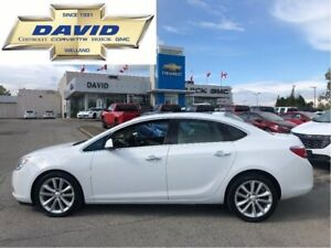 2015 Buick Verano 1SL LEATHER/ REAR CAM/ SAFETY PACKAGE/ HEAT SE