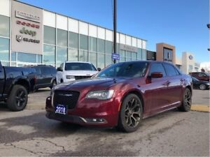 2018 Chrysler 300 300S Alloy BRZ Package! Pano, Nav, Leather and
