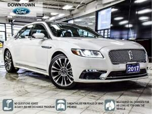 2017 Lincoln Continental Reserve   AWD   400 hp   Pano Roof   SY