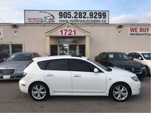 2009 Mazda Mazda3 Sport GT, Leather, Sunroof, WE APPROVE ALL CRE