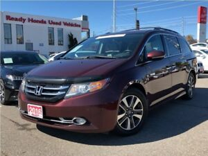 2016 Honda Odyssey Touring - Navigation - Leather - Sunroof