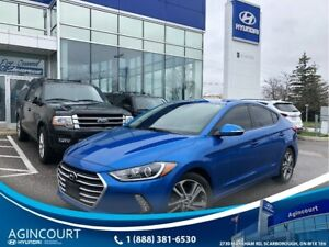 2017 Hyundai Elantra GLS|SUNROOF|BLINDSPT|BCAM|1 OWNER|PUSH BUTT