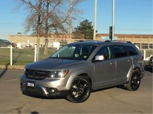 2018 Dodge Journey CROSSROAD**7 PASSENGER**LEATHER**DVD**SUNROOF
