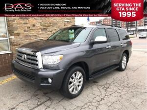 2013 Toyota Sequoia Limited 5.7L V8 LEATHER/SUNROOF/8 PASS