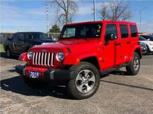 2018 Jeep Wrangler UNLIMITED SAHARA**NAV**BLUETOOTH**REMOTE STAR