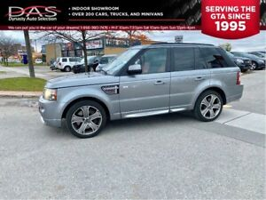 2012 Land Rover Range Rover Sport AUTOBIOGRAPHY SUPERCHARGED NAV