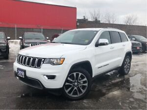2018 Jeep Grand Cherokee LIMITED**LEATHER**SUNROOF**NAV**BACK UP