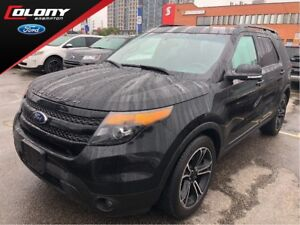 2015 Ford Explorer Sport | Perforated Leather | Navi | Moonroof