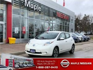 2015 Nissan LEAF SL-Leather,Navi,Alloys,Low Mileage!