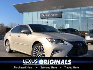 2016 Lexus ES 350 EXECUTIVE/PANO ROOF/LEATHER/NAV/LOW KMS!