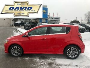 2018 Chevrolet Sonic 1LT TRUE NORTH, SUNROOF, HEATED SEATS, REM.