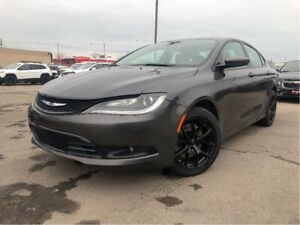 2015 Chrysler 200 S | Navigation| PanoRoof| New Tires | Htd Seat