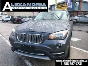 2013 BMW X1 28i/123km/pano sunroof/like new/safety included