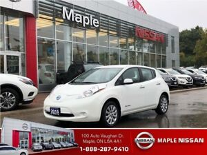 2015 Nissan LEAF Camera, Front/rear Heated Seats,Low Mileage!