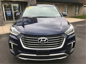 2017 Hyundai Santa Fe XL LUXURY W/7 PASSENGER SEATING! FINANCING