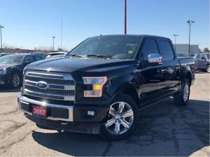 2017 Ford F-150 PLATINUM**LEATHER**PANORAMIC SUNROOF**NAV**