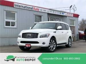 2012 Infiniti QX56 TECH | 7 PASS | LANE DEPART | NAVI