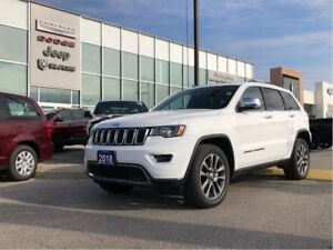 2018 Jeep Grand Cherokee Limited! LOW KMS! LAST PRICE DROP BEFOR