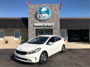 2018 Kia Forte WOW LX W/LOW KM! FINANCING AVAILABLE!