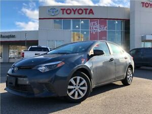 2016 Toyota Corolla LE|Low Mileage|TCUV|Heated Seats!