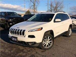 2018 Jeep Cherokee LIMITED**LEATHER**BACK UP CAMERA**NAV**