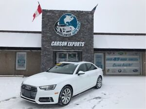 2018 Audi A4 WOW CLEAN KOMFORT! FINANCING AVAILABLE!