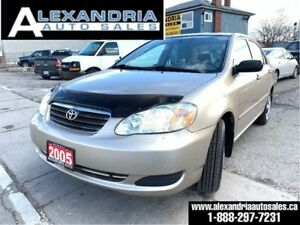 2005 Toyota Corolla CE/145km/clean/safety included