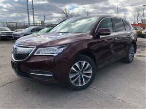 2016 Acura MDX Technology Pkg | DVD| Nav | Sunroof| Loaded|
